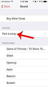 How to Have a Song as an Alarm on the iPhone 5 Solve Your Tech