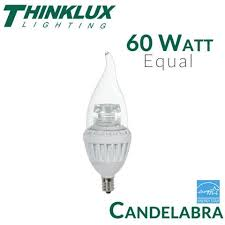 60 watt equal led candelabra bulb e12 7 watt earthled