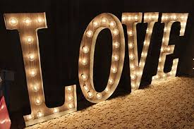 custom marquee lights 18 48 or larger letter