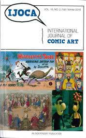 International Journal Of Comic Art 18 2 Fall Winter 2016 Is Out