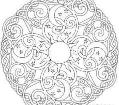 Mandala Adult Coloring 498 Free Pages