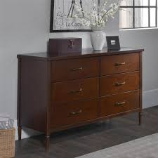 Ameriwood Dresser Assembly Instructions by South Shore Logik 6 Drawer Chocolate Dresser 3359027 The Home Depot