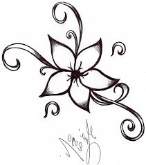 Cool And Easy Flowers To Draw Simple