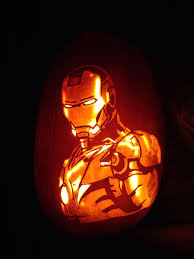 Dremel Drill Pumpkin Carving by How To Carve Iron Man 10 Steps With Pictures