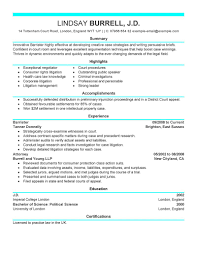 Best Attorney Resume Example Livecareer Law Examples Legal Mod Clerk Objective Internship Sample Canada Samples Enforcement
