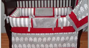 Sock Monkey Crib Bedding by Cribs Magnificent Red Poppy Crib Bedding Top Red And White Crib