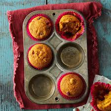 Cake Mix And Pumpkin Puree Muffins by Cranberry Pumpkin Muffins Recipe Taste Of Home