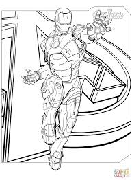 Avengers Coloring Pages Games