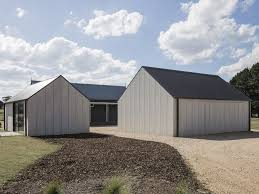 100 Architecture Gable Two CFCclad Gable Pavilions Provide Art Studio And Garage