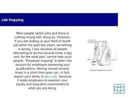 Job Hopping Resume Template For Hopper Format Example Reverse