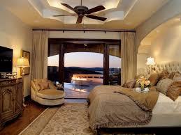 Mediterranean Master Bedroom With Restoration Hardware Fairmont Fabric Bed Kaleen Heirloom Heather Ivory Area Rug