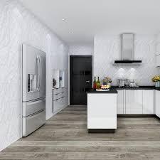 großhandel moderne selbstklebender bodenaufkleber küche aufkantung badezimmer fliesen tapeten wasserdicht fliesen boden kontakt papier raum dekor