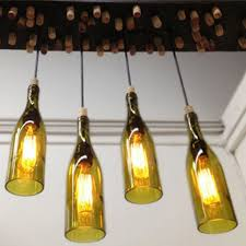 Enchanting Wine Bottle Pendant Light Upcycle Into Fixtures How Tos Diy