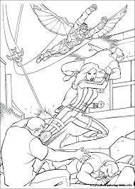 Captian America Coloring Pages Avengers Civil War Captain On