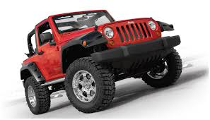 Jeep Wrangler JK 2 Door Bushwacker Pocket Fender Flares Set Of 4 ...