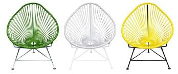 Innit Acapulco Rocking Chair by 10 Easy Pieces The Acapulco Chair Gardenista