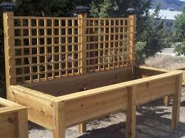 Amazing of Wooden Raised Bed Planters Cedar Raised Bed Gardening