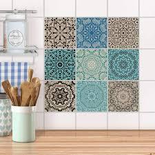 fliesenaufkleber set für küche bad design marokkanisch