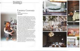 100 Interior Design Mag PRESS Geremia