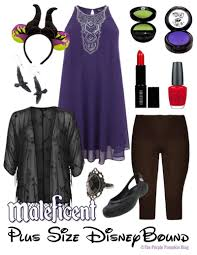 Maleficent Pumpkin Designs by Maleficent Plus Size Disneybound 24 100daysofdisney The