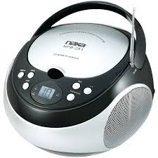 Bedroom Boom Mp3 by Naxa Npb428 Portable Cd Mp3 Player With Am Fm Radio Detachable
