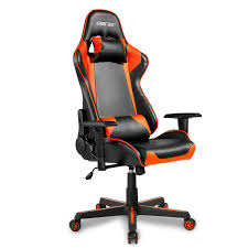 Merax Racing Style Gaming Chair Ergonomic Swivel Office Chair High-Back PU  Leather Rolling Chair Adjustable Computer Desk Chair With Adjustable Arms  ... 5 Best Gaming Chairs For The Serious Gamer Desino Chair Racing Style Home Office Ergonomic Swivel Rolling Computer With Headrest And Adjustable Lumbar Support White Bestmassage Pc Desk Arms Modern For Back Pain 360 Degree Rotation Wheels Height Recliner Budget Rlgear Every Shop Here Details About Seat High Pu Leather Designs Protector Viscologic Liberty Eertainment Video Game Backrest Adjustment Pillows Ewin Flash Xl Size Series Secretlab Are Rolling Out Their 20 Gaming Chairs