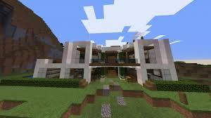 moderne minecraft villa bauen burnsocial