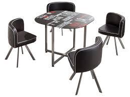 table et 4 chaises ensemble table 4 chaises town chez conforama
