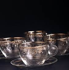 Silver Turkish Coffee Mug Set