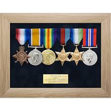 6 Space Military Medal Display Frame