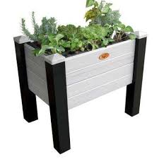 vinyl raised garden beds garden center the home depot