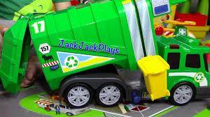 100 Trash Truck Videos For Kids Youtube Garbage For Children Recycling Toy UNBOXING Playing