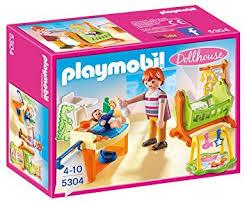 playmobil 5304 la chambre à coucher de bébé amazon fr jeux