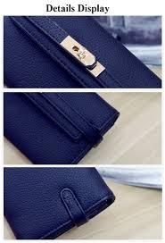 women u0027s long leather purse phone bag cash cards pouch clutch bag