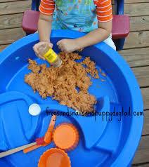 Pumpkin Spice Jello Playdough by Pumpkin Spice Clean Mud Fall Sensory Table Fspdt