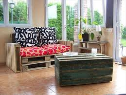 Beautiful And Modern Lounge Corner With Pallet Couch