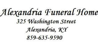 Alexandria Funeral Home logo