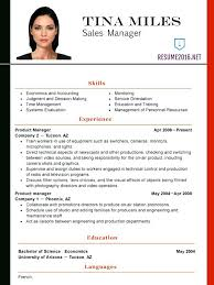 Resume Latest Format Of Resumes Doc