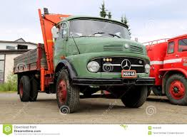 Green Mercedes-Benz 1413 Tipper Truck Editorial Photo - Image Of ...