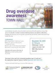 Drug Overdose Awareness Town Hall | Calendar | Monterey ...