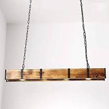 henley holz pendelleuchte esszimmer retro le led 12w pendelle industrial vintage design hängele höhenverstellbare hängeleuchte für