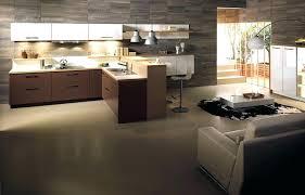 cuisine sur salon modale de cuisine ouverte modele de cuisine ouverte sur salon avec