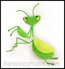 Praying Mantis Crafts And Learning Activities