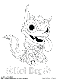 Coloring Page Printable Dog Pages Skylanders Giants To Print Swap Force Full Size