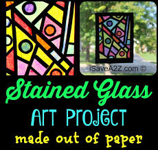 Paper Craft Idea How To Make Your Stained Glass Window