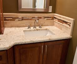 Tiles For Backsplash In Bathroom by Granite Backsplash Granite Backsplashes