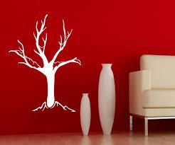 wandtattoo baum bäume aufkleber äste kahl kinderzimmer winter deko wald wandsticker wohnzimmer 1e079 wandtattoos und leinwandbilder günstig