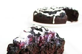 blaubeer schokoladen kuchen vegan glutenfrei fruchtgesüßt