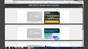Bitcoin Faucet Rotator Faucetbox by Sole Faucet Very Nice Youtube