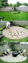 Pea Gravel Patio Ideas by Pea Gravel Patio With Paver And Furniture Inexpensive Best Ideas